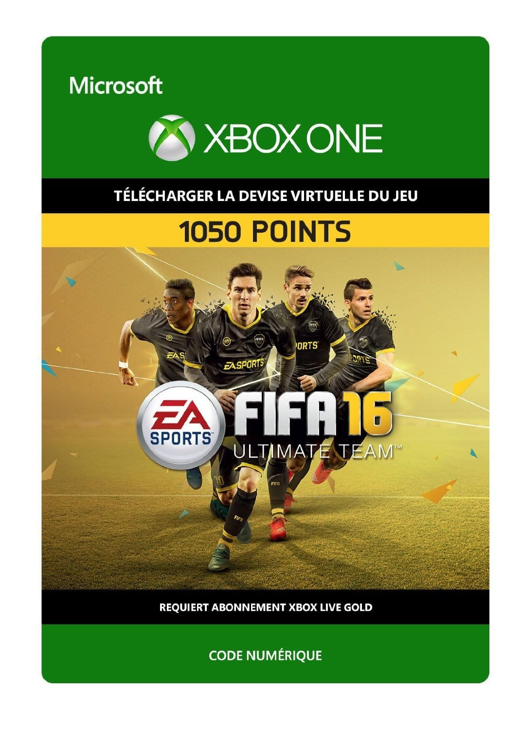 1050 points fifa fut 16 xbox one