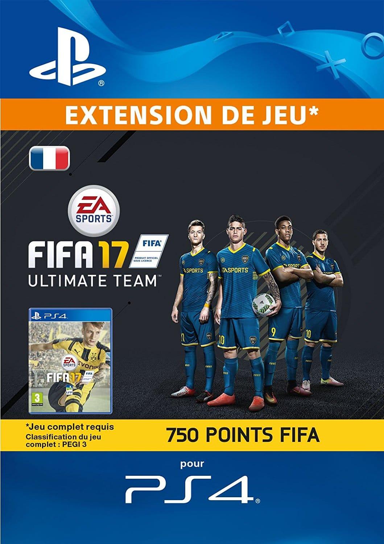 750 points FIFA pas cher